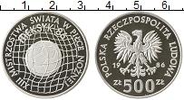 Изображение Монеты Европа Польша 500 злотых 1986 Серебро Proof-