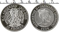 Изображение Монеты Европа Дания 10 крон 2006 Серебро Proof-