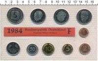 Изображение Подарочные монеты ФРГ Монеты 1984 (чеканка Штуттгарт) 1984  UNC