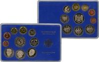 Изображение Подарочные монеты ФРГ Монеты 1984 (чеканка Гамбурга) 1984  UNC