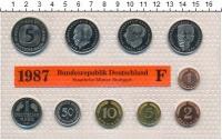 Изображение Подарочные монеты ФРГ Монеты 1987 (чеканка Штутгарта) 1987  UNC