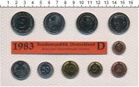 Изображение Подарочные монеты ФРГ Монеты 1983 (чеканка Мюнхена) 1983  UNC
