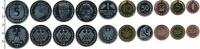 Изображение Подарочные монеты ФРГ Монеты 1990 (чеканка Мюнхена) 1990  UNC