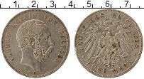 Изображение Монеты Германия Саксония 5 марок 1898 Серебро VF
