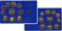 Изображение Подарочные монеты ФРГ Монеты 1987 (чеканка Карлсруэ) 1987  UNC