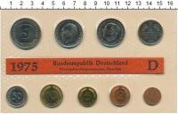Изображение Подарочные монеты ФРГ Монеты 1975 (чеканка Мюнхен) 1975  UNC