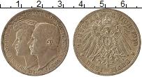 Изображение Монеты Саксен-Веймар-Эйзенах 3 марки 1910 Серебро XF