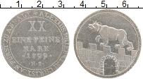 Изображение Монеты Германия Анхальт-Бернбург 2/3 талера 1799 Серебро XF-
