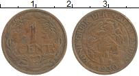 Изображение Монеты Нидерланды 1 цент 1930 Медь XF