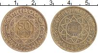 Изображение Монеты Марокко 50 франков 1952 Медь XF