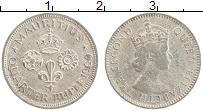 Изображение Монеты Маврикий 1/4 рупии 1960 Медно-никель  Елизавета II