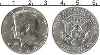 Изображение Монеты Северная Америка США 1/2 доллара 1968 Серебро XF