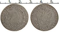 Изображение Монеты Австрия 20 крейцеров 1818 Серебро VF