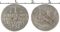 Изображение Монеты Гамбург 1 шиллинг 1795 Серебро XF-