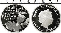 Изображение Монеты Австралия и Океания Тувалу 1 доллар 2013 Серебро Proof-