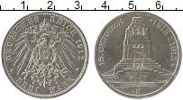Изображение Монеты Германия Саксония 3 марки 1913 Серебро XF