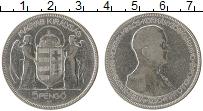 Изображение Монеты Венгрия 5 пенго 1930 Серебро VF 10 лет правления М.Х