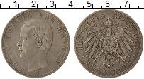 Изображение Монеты Бавария 5 марок 1902 Серебро XF Отто