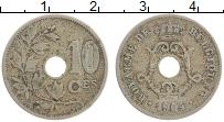 Изображение Монеты Бельгия 10 сантим 1904 Медно-никель XF- BELGIQUE