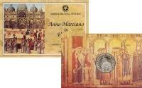 Изображение Подарочные монеты Италия 1000 лир 1994 Серебро UNC