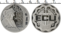 Изображение Монеты Нидерланды 25 экю 1991 Серебро Proof