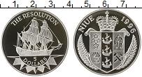 Изображение Монеты Новая Зеландия Ниуэ 5 долларов 1996 Серебро Proof-