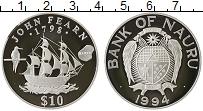Изображение Монеты Австралия и Океания Науру 10 долларов 1994 Серебро Proof