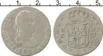 Изображение Монеты Испания 2 реала 1820 Серебро VF