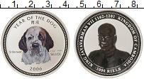 Изображение Монеты Камбоджа 3000 риель 2006 Серебро Proof Цифровая  печать.  Г