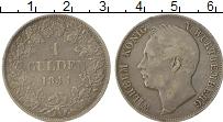 Изображение Монеты Вюртемберг 1 гульден 1841 Серебро XF-