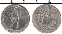 Изображение Мелочь Ватикан 50 сентесим 1939 Медно-никель XF