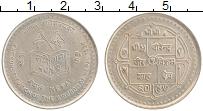 Изображение Монеты Непал 5 рупий 1990 Медно-никель UNC-