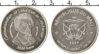 Изображение Монеты Африка Мали 2500 франков 2007 Серебро UNC-