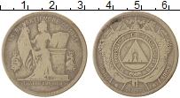 Изображение Монеты Северная Америка Гондурас 50 сентаво 1883 Серебро VF
