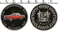 Изображение Монеты Южная Америка Суринам 100 гульденов 1996 Медно-никель Proof