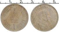 Изображение Монеты Индия 2 рупии 1989 Медно-никель XF