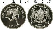 Изображение Монеты Африка Ботсвана 2 пула 1986 Медно-никель UNC