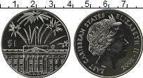 Изображение Монеты Карибы 1 доллар 2002 Медно-никель UNC