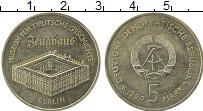 Изображение Монеты ГДР 5 марок 1990 Медно-никель UNC- Берлин.  Музей  Цейх