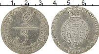 Изображение Монеты Брауншвайг-Люнебург 2/3 талера 1807 Серебро XF-