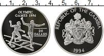 Продать Монеты Гамбия 20 даласи 1994 Серебро