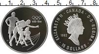 Изображение Монеты Северная Америка Канада 15 долларов 1992 Серебро Proof