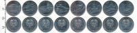 Изображение Наборы монет Приднестровье Приднестровье 2014 2014 Медно-никель UNC-