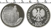 Изображение Монеты Польша 100 злотых 1977 Серебро Proof- Королевский замок