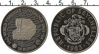 Изображение Монеты Сейшелы 25 рупий 1983 Медно-никель UNC-