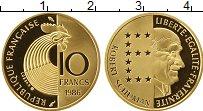 Изображение Монеты Франция 10 франков 1986 Золото Proof