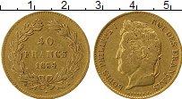 Изображение Монеты Франция 40 франков 1834 Золото XF-