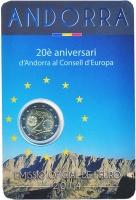 Изображение Подарочные монеты Андорра 2 евро 2014 Биметалл UNC