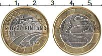 Изображение Монеты Финляндия 5 евро 2015 Биметалл UNC Гимнастика