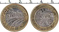 Изображение Монеты Финляндия 5 евро 2015 Биметалл UNC Волейбол